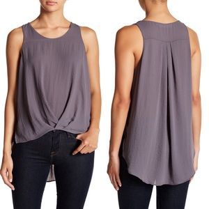 ASTR the Label Textured High/Low Tank Sz M